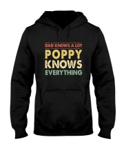 Dad Knows A Lot Poppy Knows Everything Hooded Sweatshirt thumbnail