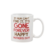 Mum Can't Find It Mug front