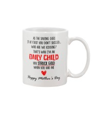 Only Child Mother Day Mug front
