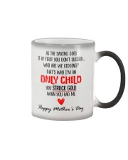 Only Child Mother Day Color Changing Mug thumbnail