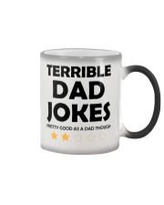 Terrible Dad Jokes Color Changing Mug thumbnail