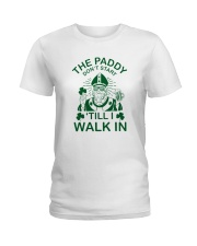 The Paddy Don't Start Ladies T-Shirt front