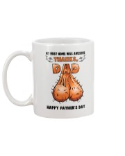 First Home Awesome Dad Balls Mug back
