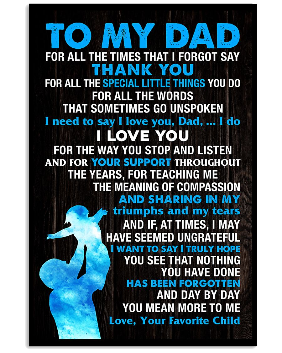 All The Times I Forgot Say 11x17 Poster