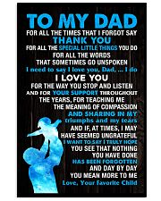 All The Times I Forgot Say 11x17 Poster front