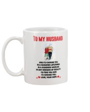 Choose You Hundred Mug back