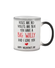 Big Willy Valentine Color Changing Mug thumbnail