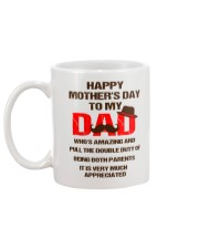 Duty Of Being Both Parents Mug back