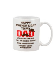 Duty Of Being Both Parents Mug front