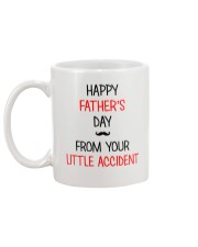 From Your Little Accident Mug back