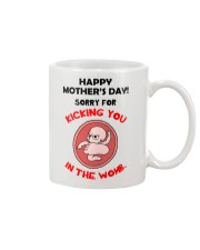 Kick Mom In The Womb Mug front