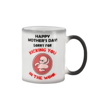 Kick Mom In The Womb Color Changing Mug thumbnail