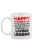 Birthday A Living Legend Mug back