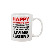 Birthday A Living Legend Mug front