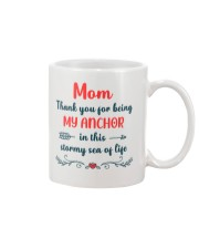 Anchor In Stormy Sea Mug front