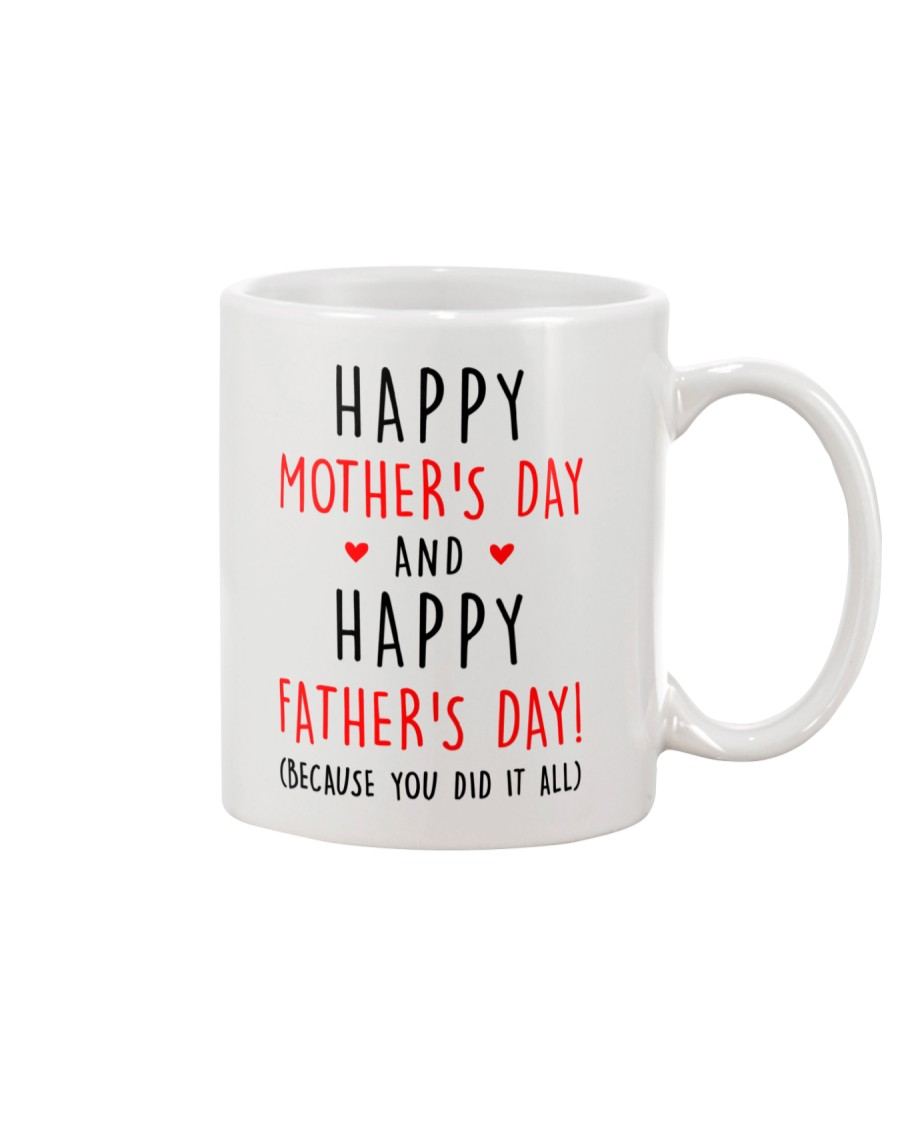 Mother's Father's Day Did It All Mug