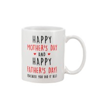 Mother's Father's Day Did It All Mug front