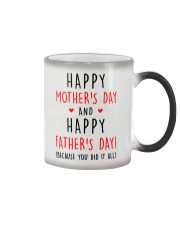 Mother's Father's Day Did It All Color Changing Mug thumbnail