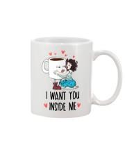 I Want You Inside Me  Mug front