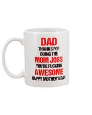 Awesome Dad Mug back