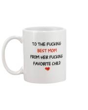 To The Best Mom  Mug back