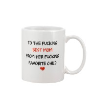 To The Best Mom  Mug front
