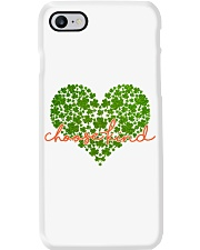 Choose Kind Shamrock Heart Phone Case thumbnail