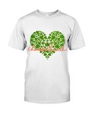 Choose Kind Shamrock Heart Classic T-Shirt front