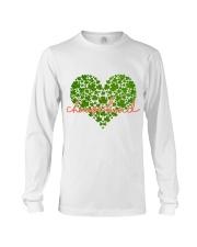 Choose Kind Shamrock Heart Long Sleeve Tee thumbnail