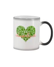 Choose Kind Shamrock Heart Color Changing Mug thumbnail