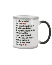 Take A Bullet For You Color Changing Mug thumbnail