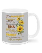 Bonus Mom Gift Not Biologically Related But Family Mugs tile