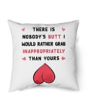 """Nobody's Butt Pillow Indoor Pillow - 16"""" x 16"""" thumbnail"""