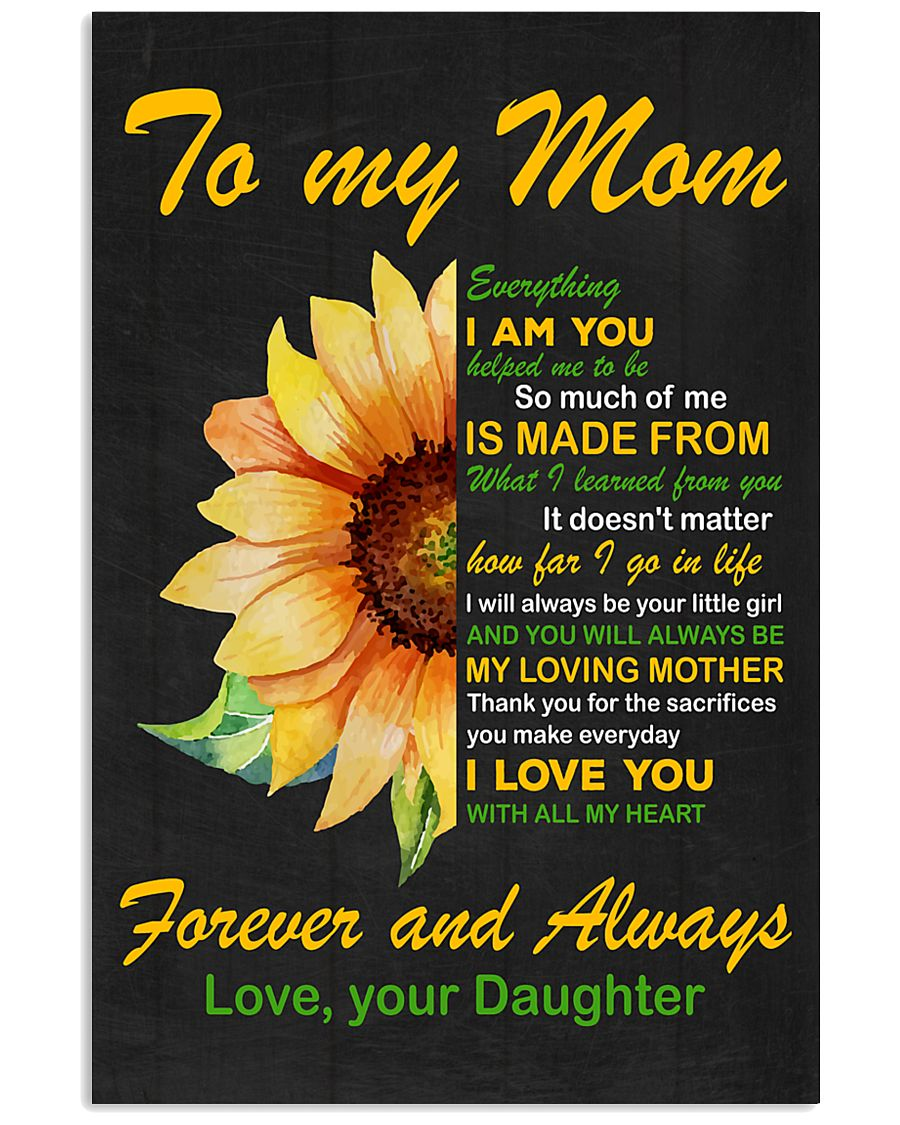 Forever and Always Mom 11x17 Poster