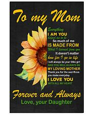 Forever and Always Mom 11x17 Poster front