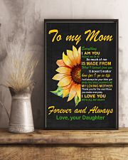 Forever and Always Mom 11x17 Poster lifestyle-poster-3