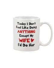 Doing Anything Do Her Mug front