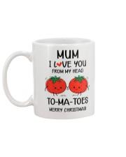 I Love You From My Head To-ma-toes Mug back