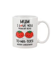 I Love You From My Head To-ma-toes Mug front