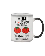 I Love You From My Head To-ma-toes Color Changing Mug thumbnail