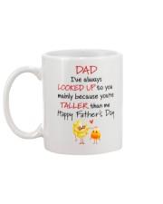 Mainly Because You're Taller Than Me Mug back