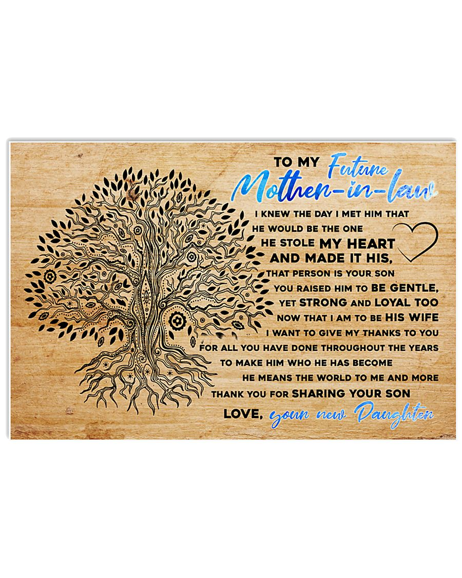 To My Future Mother-in-law 17x11 Poster