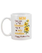 Mom Sunshine Only Mug back
