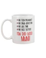 You Did Good Mum Mug back