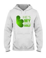 He Is My Drunker Half Hooded Sweatshirt thumbnail