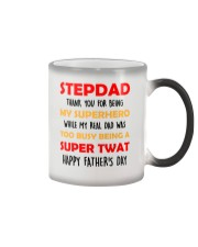 Thank You For Being My Superhero AUS Color Changing Mug thumbnail