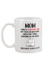 Only Have Rolls Left Mug back