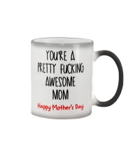 Awesome Mom Mother's Day Color Changing Mug thumbnail