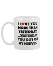 Love More Than Yesterday Mug back