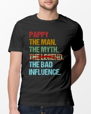 Pappy Legend Bad Influence Classic T-Shirt lifestyle-mens-crewneck-front-13